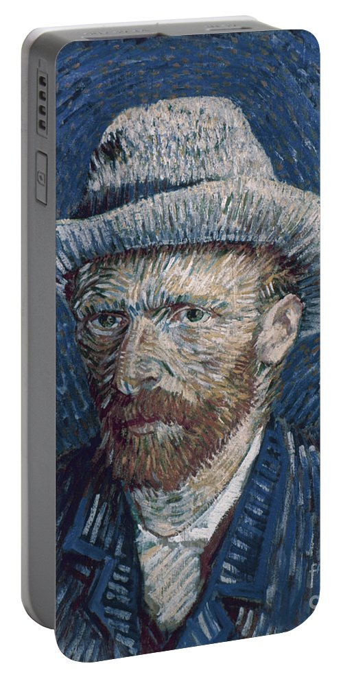 1887 Portable Battery Charger featuring the photograph Van Gogh: Self-portrait by Granger