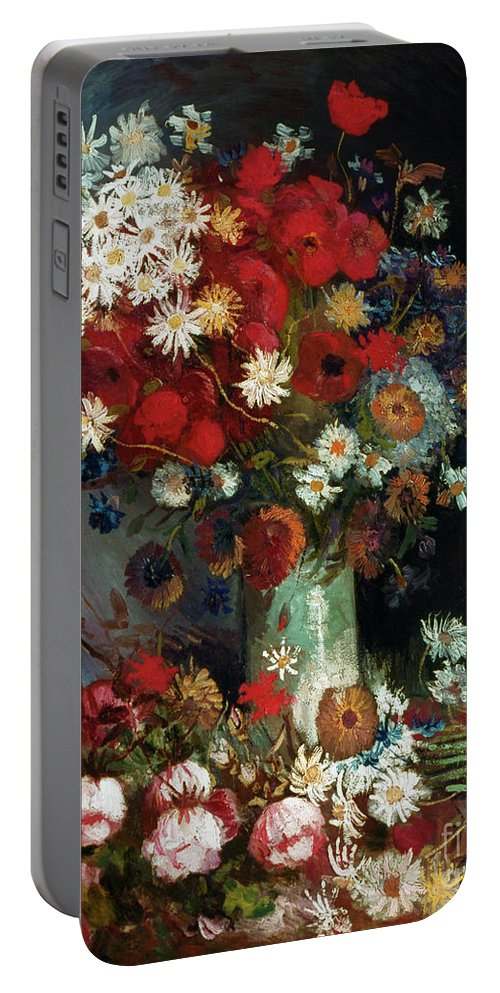 1886 Portable Battery Charger featuring the photograph Van Gogh Still Life 1886 by Granger
