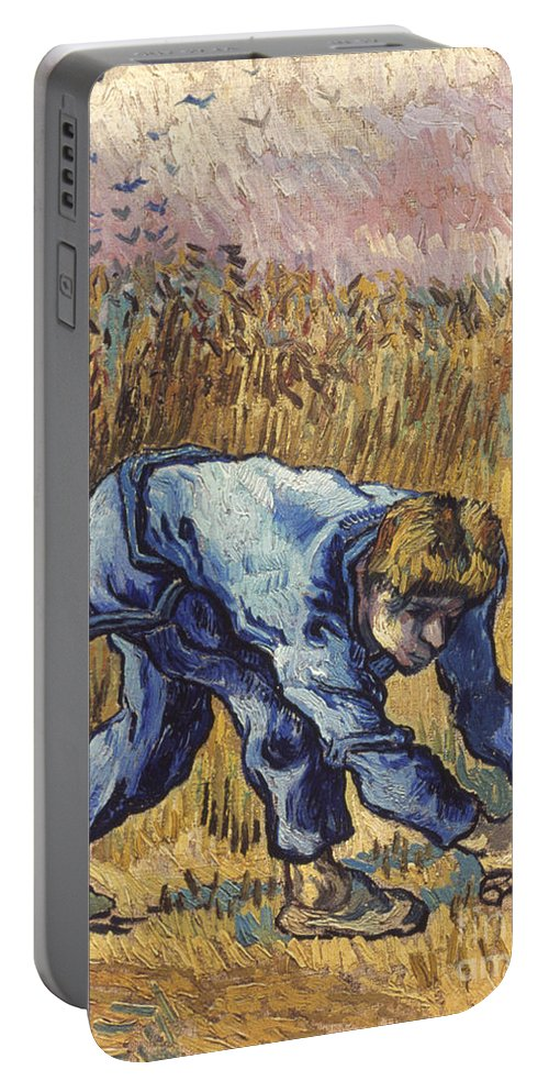 1889 Portable Battery Charger featuring the photograph Van Gogh: The Reaper, 1889 by Granger