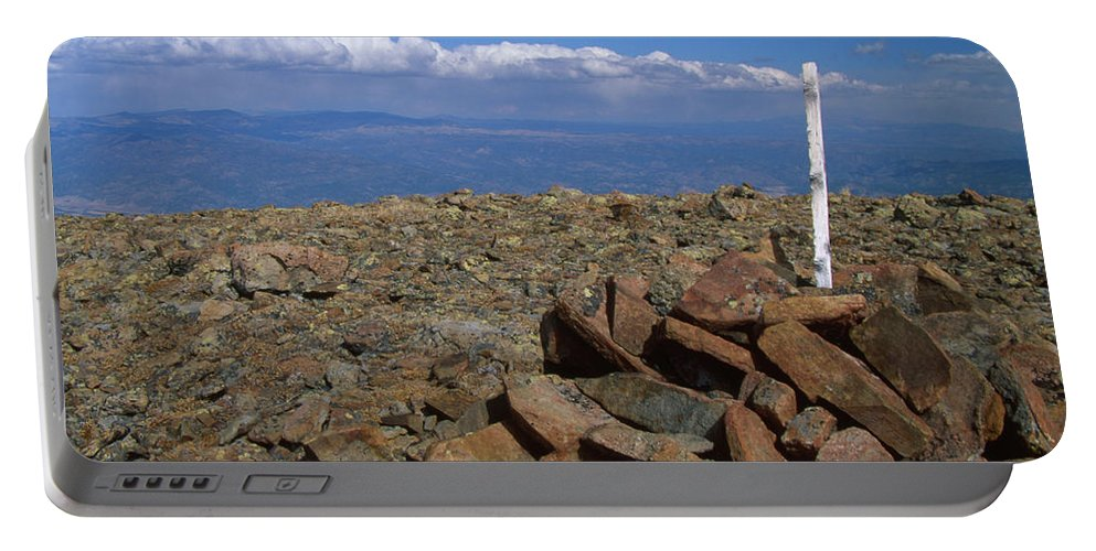Sangre De Christo Range Portable Battery Charger featuring the photograph Vanquished by Soli Deo Gloria Wilderness And Wildlife Photography