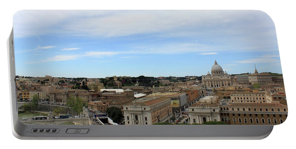 Rome Portable Battery Charger featuring the photograph Vatican General View by Munir Alawi