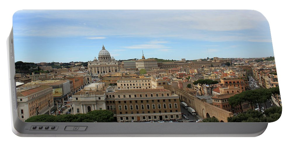 Rome Portable Battery Charger featuring the photograph Vatican In Spring by Munir Alawi