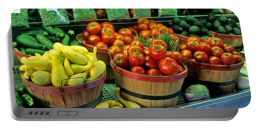 Vegetable Portable Battery Charger featuring the photograph Vegetables by Inga Spence