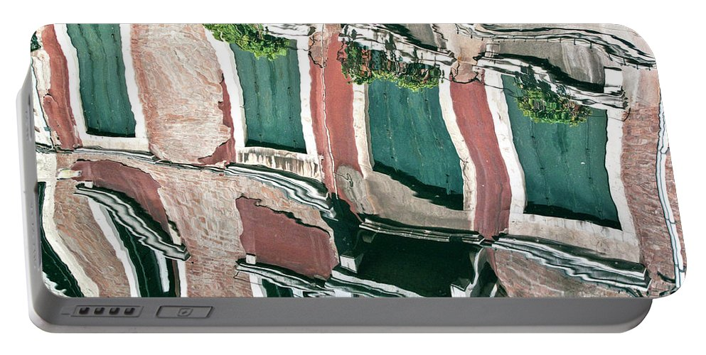 Water Portable Battery Charger featuring the photograph Venice Upside Down 3 by Heiko Koehrer-Wagner