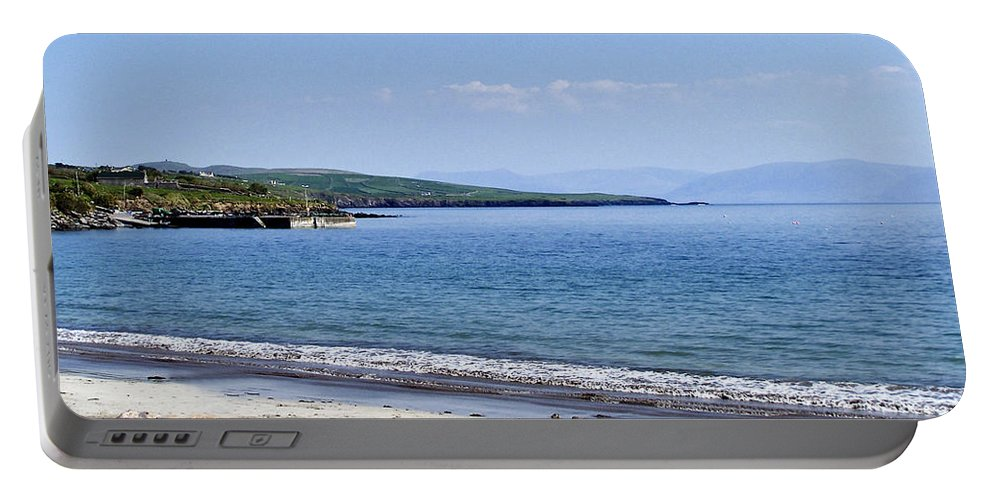 Irish Portable Battery Charger featuring the photograph Ventry Harbor On The Dingle Peninsula Ireland by Teresa Mucha