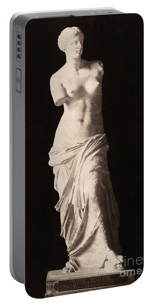 2nd Century B.c. Portable Battery Charger featuring the painting Venus De Milo by Granger