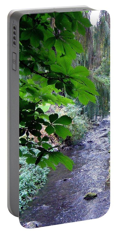 Vernon Creek Portable Battery Charger featuring the photograph Vernon Creek by Will Borden