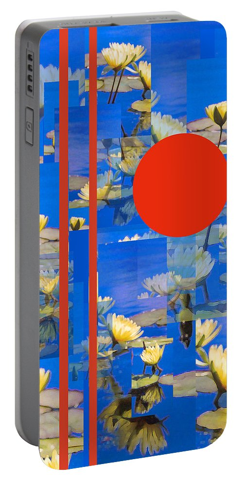 Flowers Portable Battery Charger featuring the photograph Vertical Horizon by Steve Karol