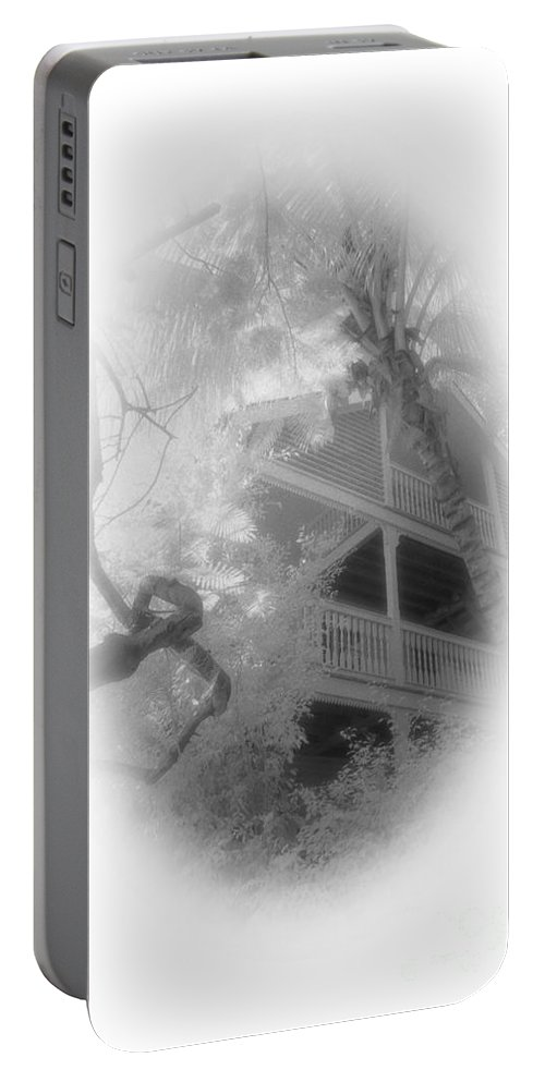 Balcony Portable Battery Charger featuring the photograph View Of The Balcony by Richard Rizzo