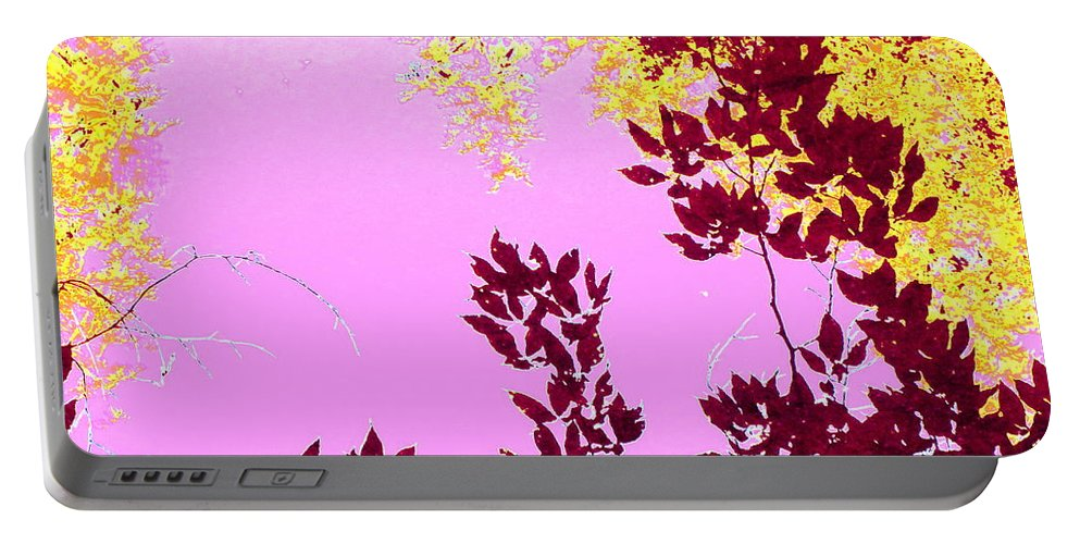 Water Portable Battery Charger featuring the photograph Colored View by Sybil Staples