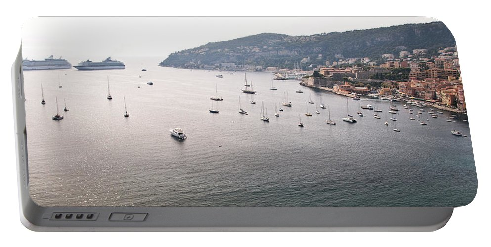 Villefranche Portable Battery Charger featuring the photograph Villefranche-sur-mer by Steven Sparks