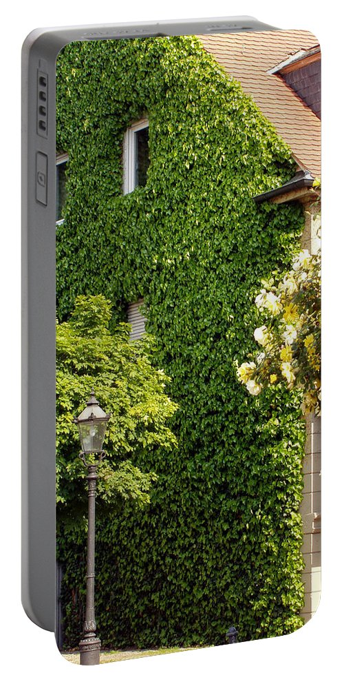 Building Portable Battery Charger featuring the photograph Vine Cover by Deborah Crew-Johnson
