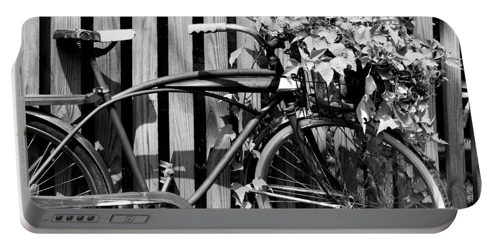 Vintage Bike Portable Battery Charger featuring the photograph Vintage Bicycle by Michelle Joseph-Long