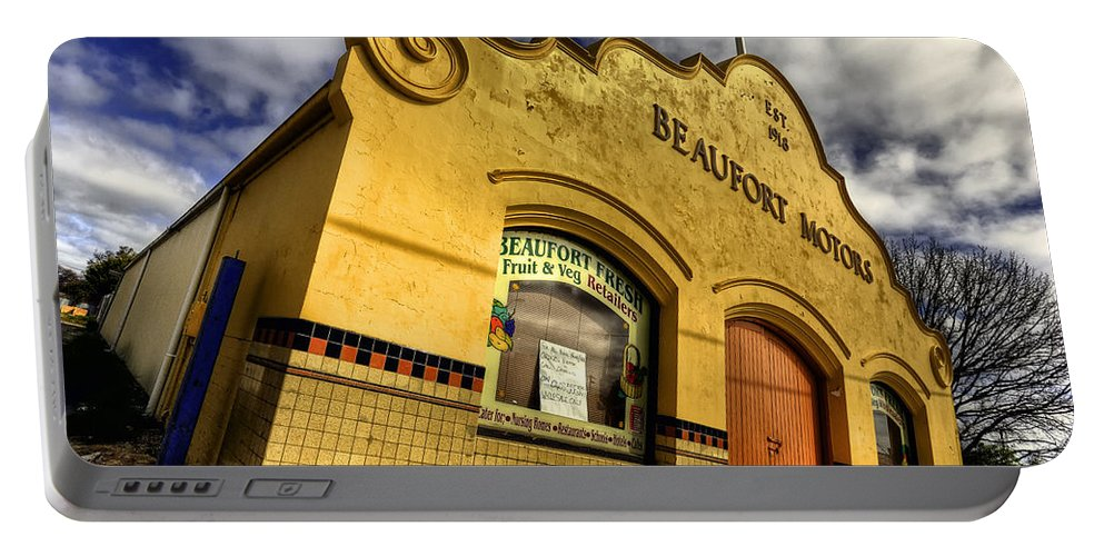 Architecture Portable Battery Charger featuring the photograph Vintage Gem by Wayne Sherriff