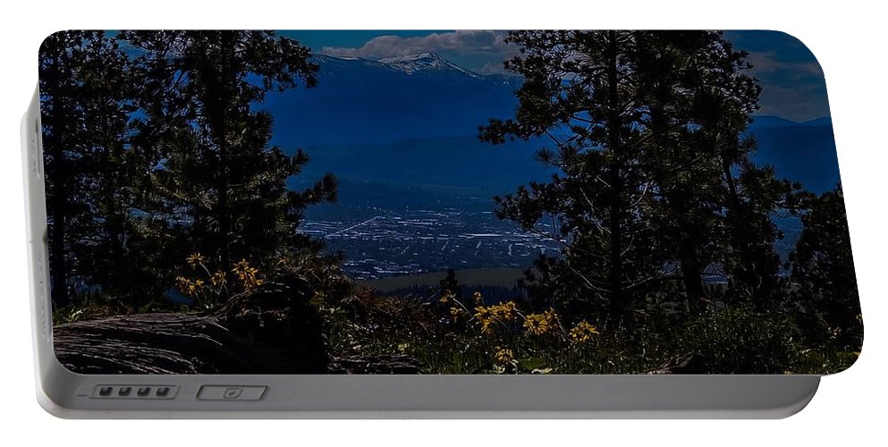 Portable Battery Charger featuring the photograph Virtuous Vista by Dan Hassett