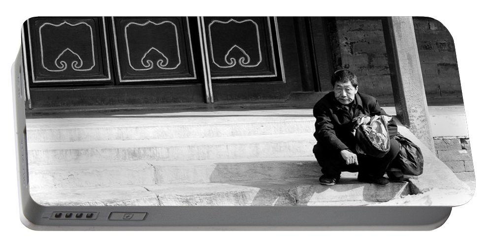 China Portable Battery Charger featuring the photograph Waiting by Sebastian Musial