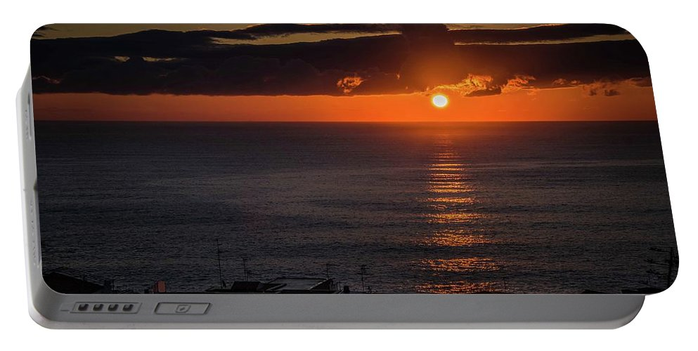 Sunrise Portable Battery Charger featuring the photograph Waking Up by Larkin's Balcony Photography
