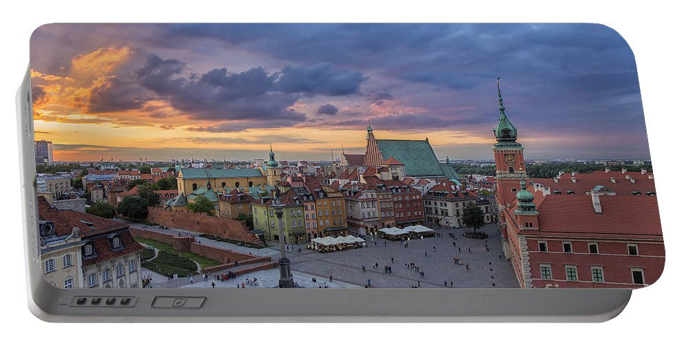 Warsaw Portable Battery Charger featuring the photograph Warsaw by Paul Fell