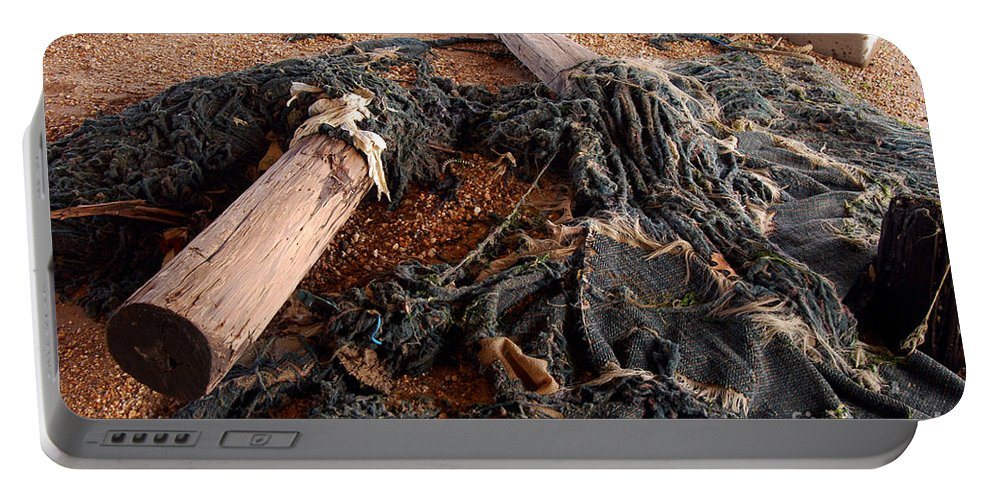 Clay Portable Battery Charger featuring the photograph Washed Up by Clayton Bruster
