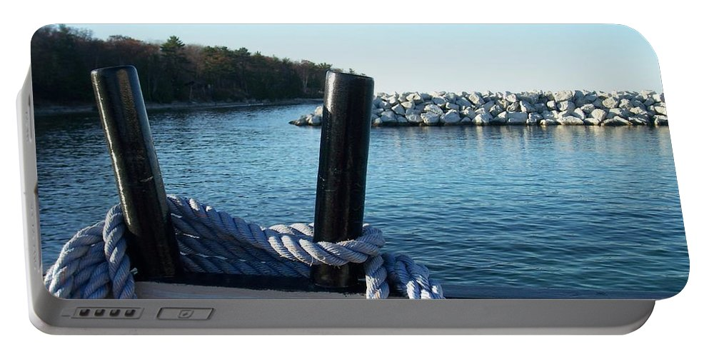 Washington Island Portable Battery Charger featuring the photograph Washington Island 1 by Anita Burgermeister
