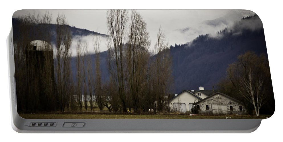 Art Portable Battery Charger featuring the photograph Washington Winter Day by Clayton Bruster
