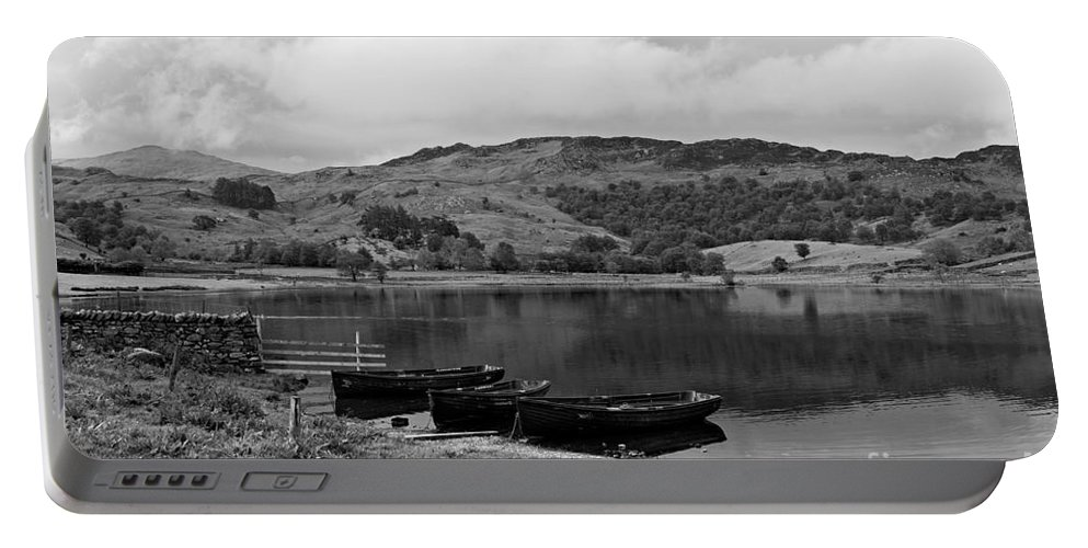 Watendlath Portable Battery Charger featuring the photograph Watendlath Tarn In The Lake District Cumbria by Louise Heusinkveld