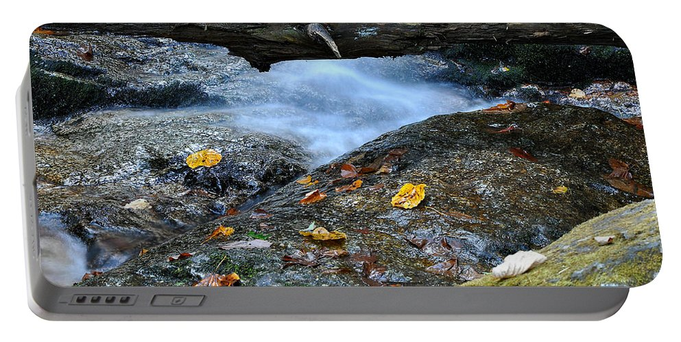 Water Falls Portable Battery Charger featuring the photograph Water Falls by Todd Hostetter