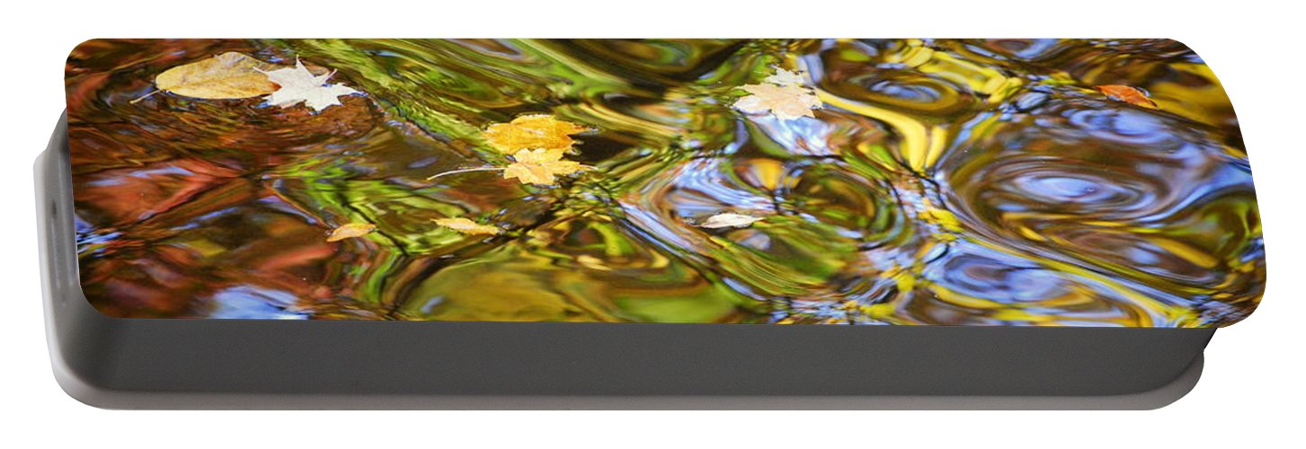 Water Portable Battery Charger featuring the photograph Water Prism by Frozen in Time Fine Art Photography