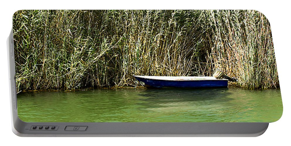 Water Portable Battery Charger featuring the photograph Water Scene Pano by Svetlana Sewell