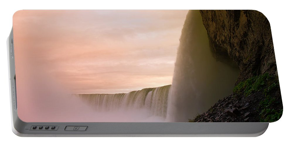 Niagara Falls Portable Battery Charger featuring the photograph Water by Sebastian Musial