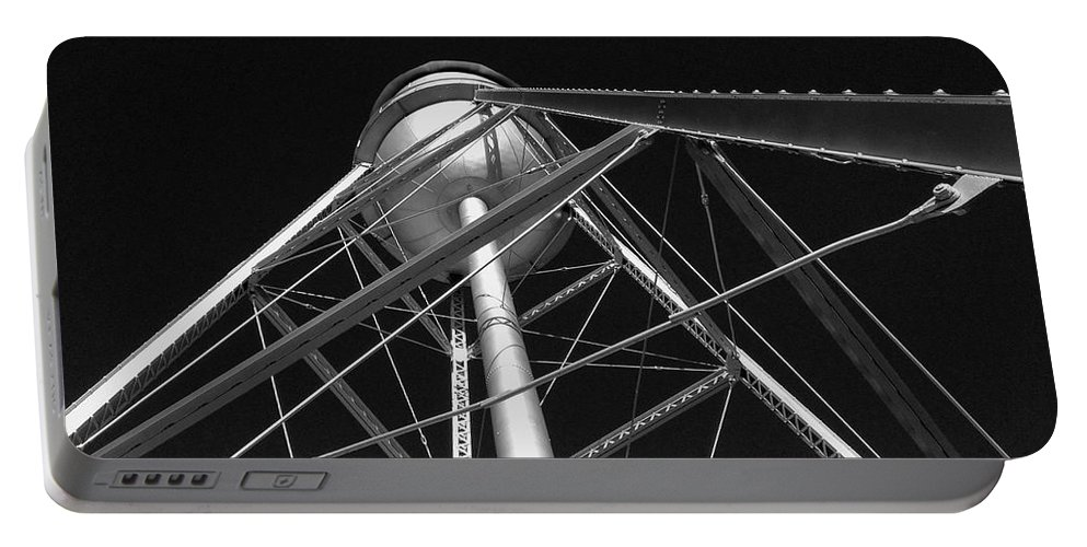 Architecture Portable Battery Charger featuring the photograph Water Tower by Dick Goodman