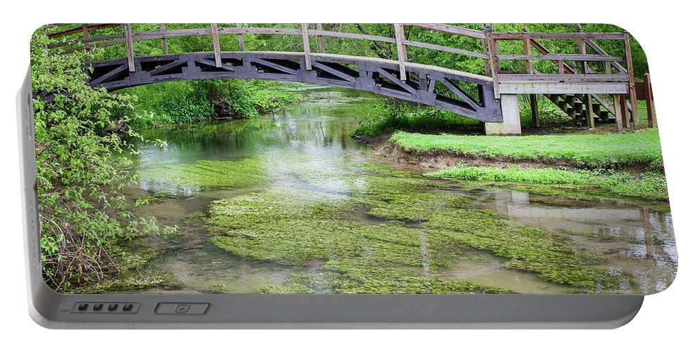 Landscape Portable Battery Charger featuring the photograph Watercress by Jim Love