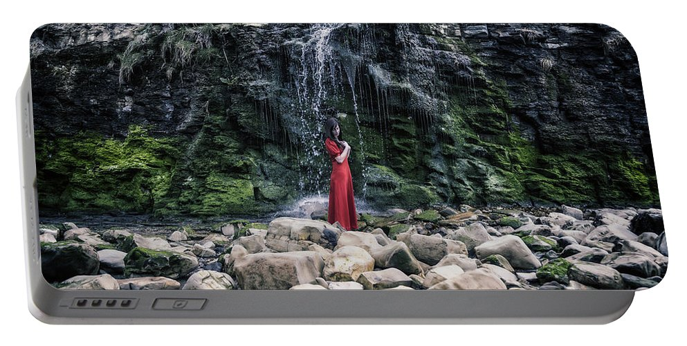 Portable Battery Charger featuring the photograph Waterfall by Joana Kruse
