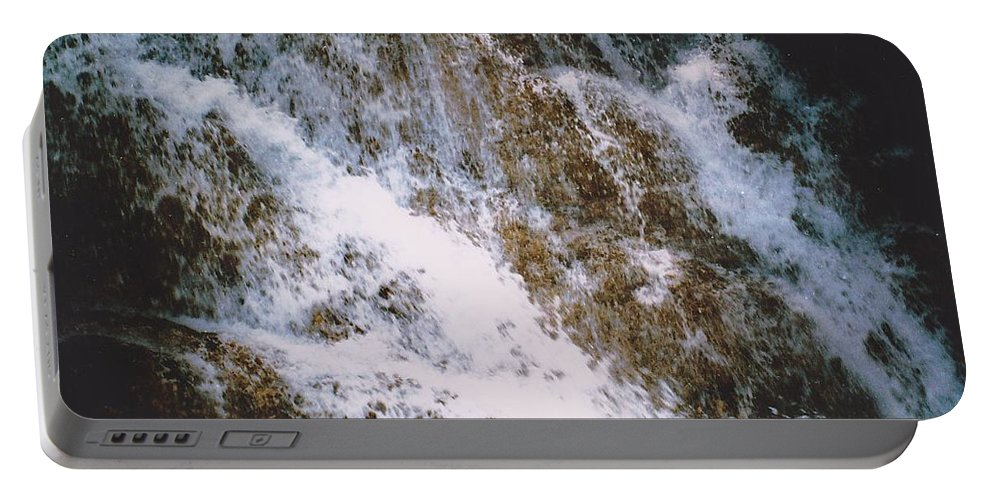 Water Portable Battery Charger featuring the photograph Waterfall by Michelle Powell