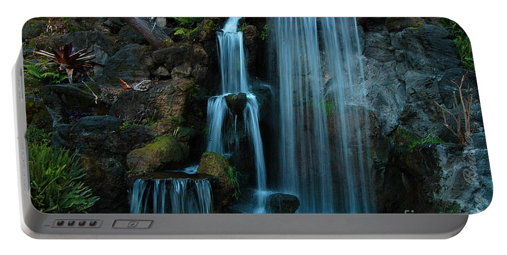 Clay Portable Battery Charger featuring the photograph Waterfalls by Clayton Bruster