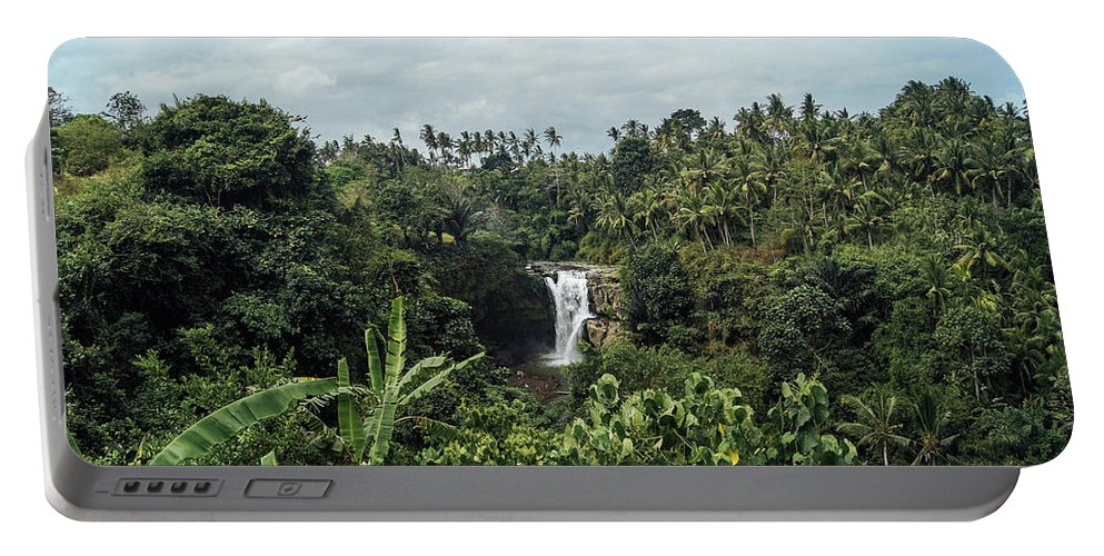 Cascade Portable Battery Charger featuring the photograph Waterfalls by Jb