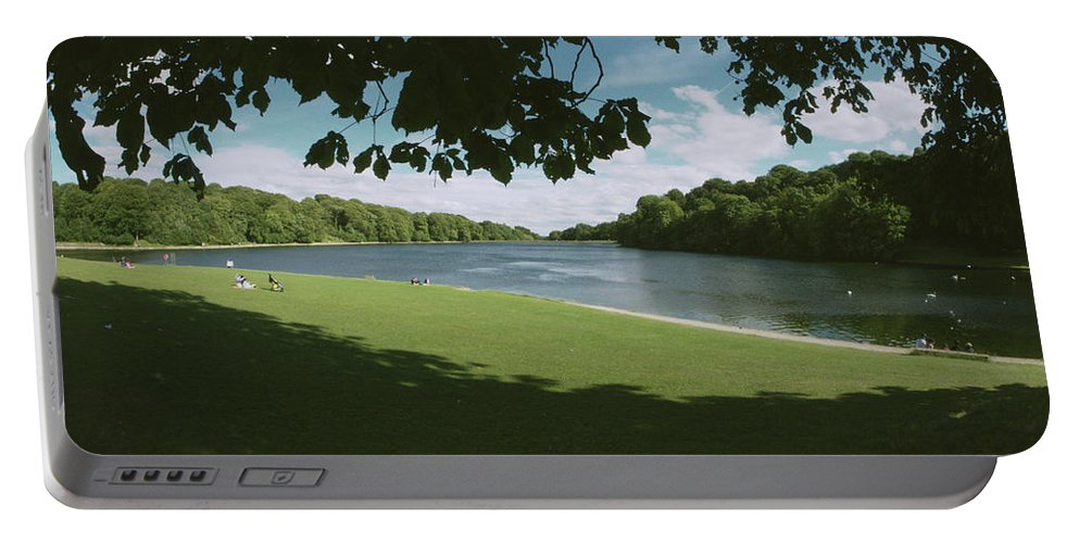 Waterloo Lake Portable Battery Charger featuring the photograph Waterloo Lake by James Golding