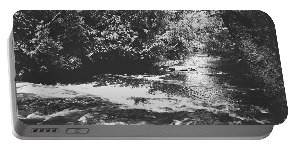 Water Portable Battery Charger featuring the photograph Waterway by Wesley Farnsworth