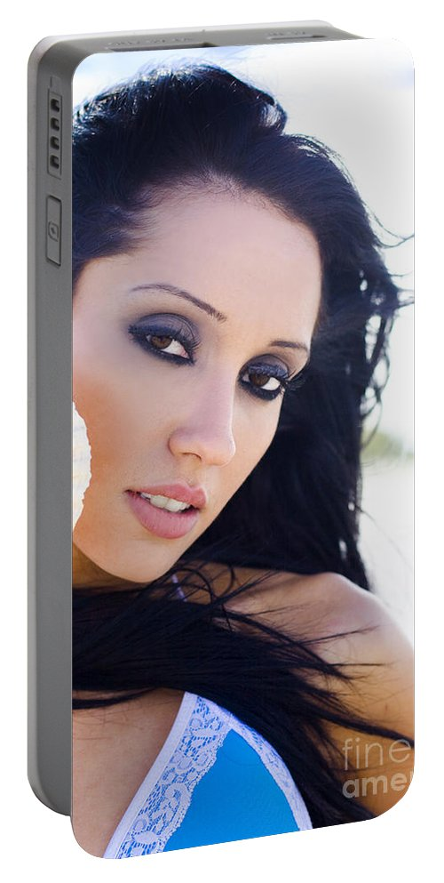 Caucasian Portable Battery Charger featuring the photograph Wellness by Jorgo Photography - Wall Art Gallery
