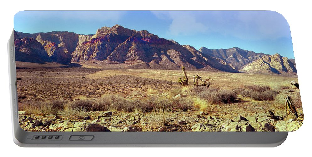 Frank Wilson Portable Battery Charger featuring the photograph Western Desolation by Frank Wilson