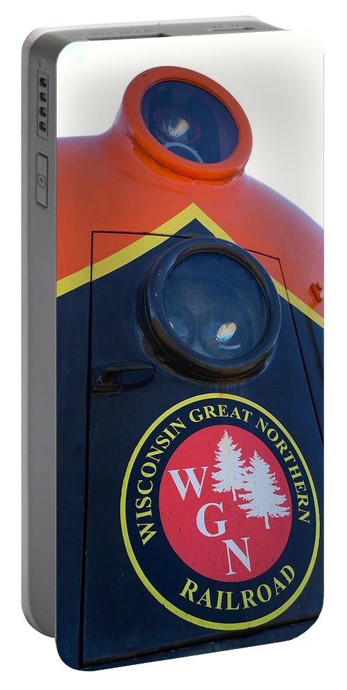 Wisconsin Great Northern Railroad Portable Battery Charger featuring the photograph Wgn 423 #1 by Cara Frafjord
