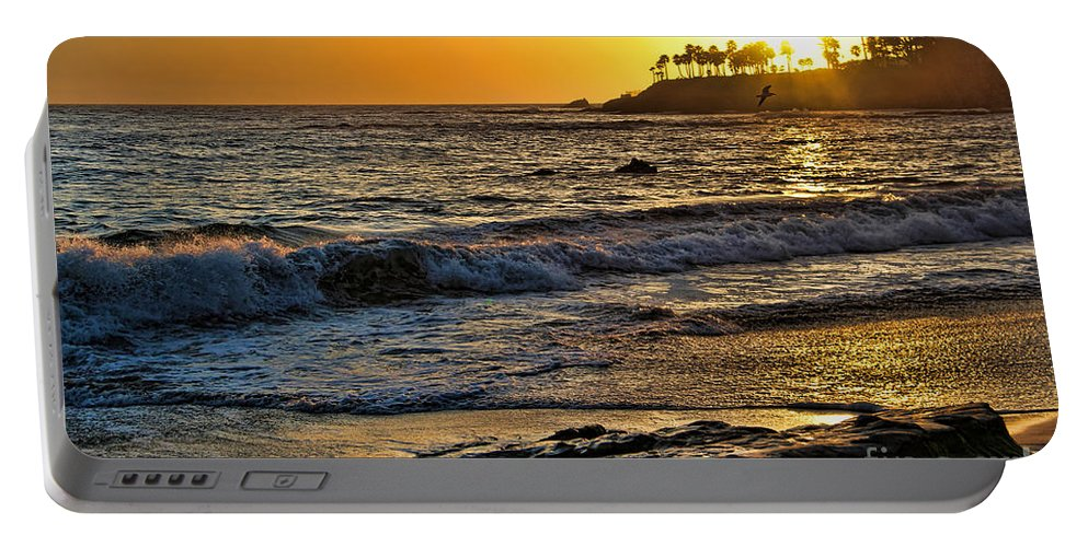 Laguna Portable Battery Charger featuring the photograph What A Beautiful Day by Mariola Bitner