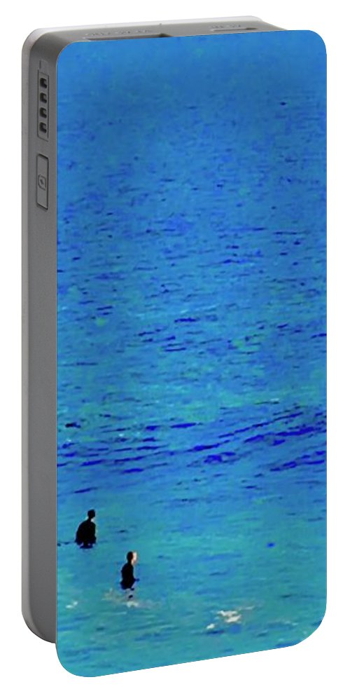 When Portable Battery Charger featuring the photograph When by Scott L Holtslander