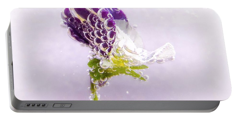 Floral Portable Battery Charger featuring the photograph Whimsical by LeAnne Perry