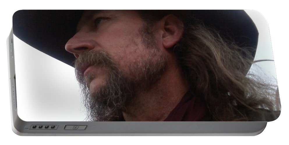 Whiskers Portable Battery Charger featuring the photograph Whiskers by Cindy New