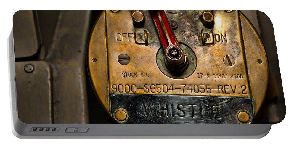Switch Portable Battery Charger featuring the photograph Whistle Switch by Christopher Holmes