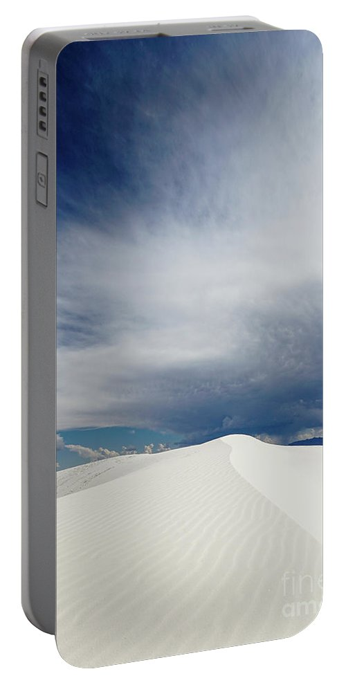 White Sands National Monument Portable Battery Charger featuring the photograph White Sands by DiFigiano Photography