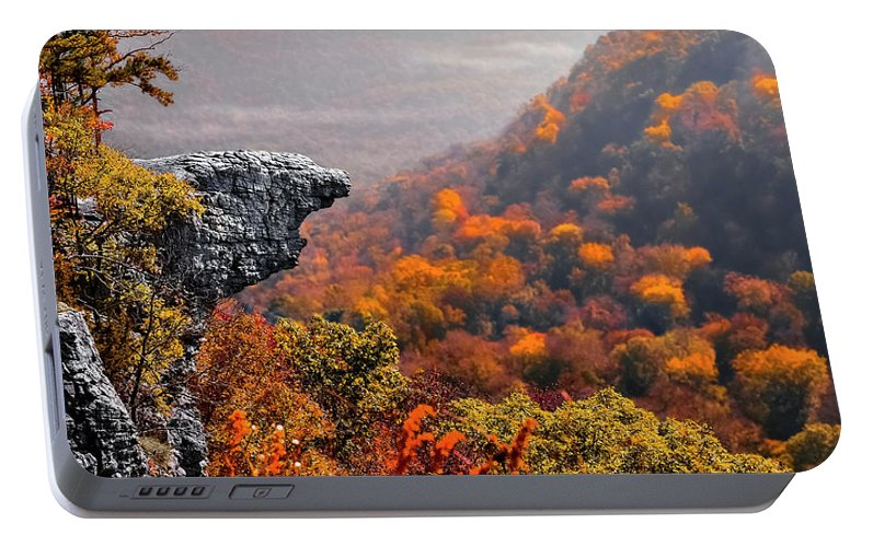 Whitiker Point Portable Battery Charger featuring the photograph Whitiker Point by Garett Gabriel