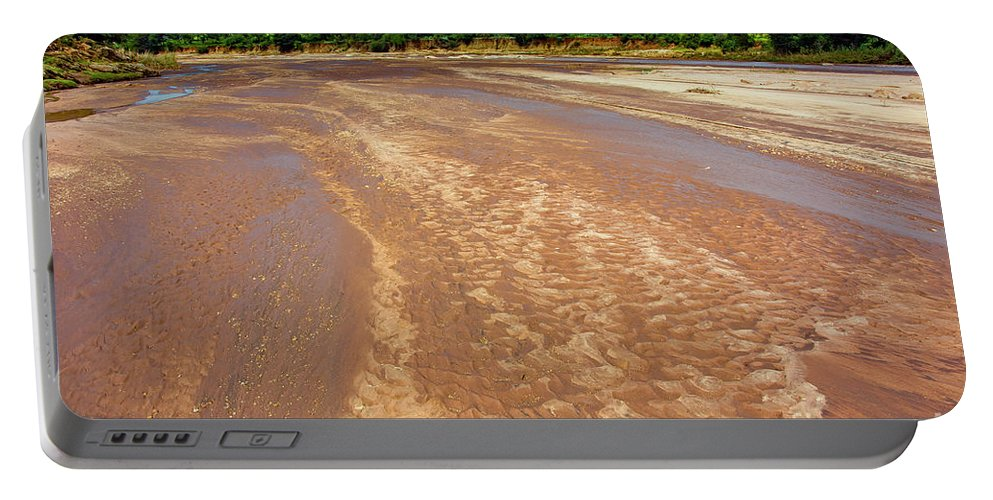 Rivers Portable Battery Charger featuring the photograph Wide Thwake River by Morris Keyonzo