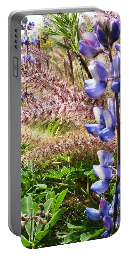 Flower Portable Battery Charger featuring the photograph Wild Flower by Shari Chavira